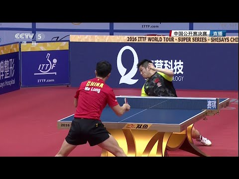 2016 China Open (Ms-Final) MA Long - FAN Zhendong [Full Matc