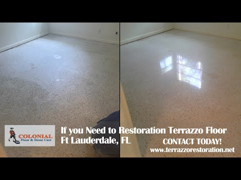 How Much Does It Cost To Restore Terrazzo Floors In Ft