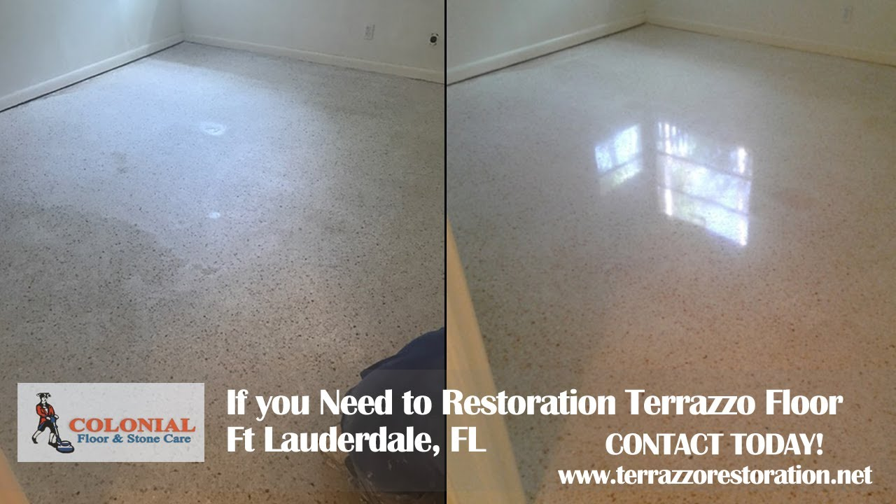 how much does it cost to restore terrazzo floors in ft lauderdale