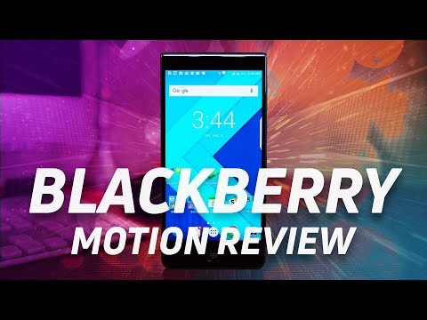 BlackBerry Motion Review: A KEYone without a keyboard