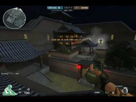 "Dot Kich ""Crossfire Vietnam"" Gameplay - Zombie Mode 3 ""Mountain Resort"""