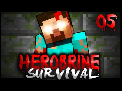HEROBRINE SURVIVAL – EPISODE 5 – HEROBRINE HORROR – SEASON 3 (Minecraft)