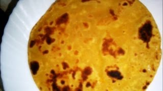 Soft Pumpkin Chapatis - Step by Step Tutorial
