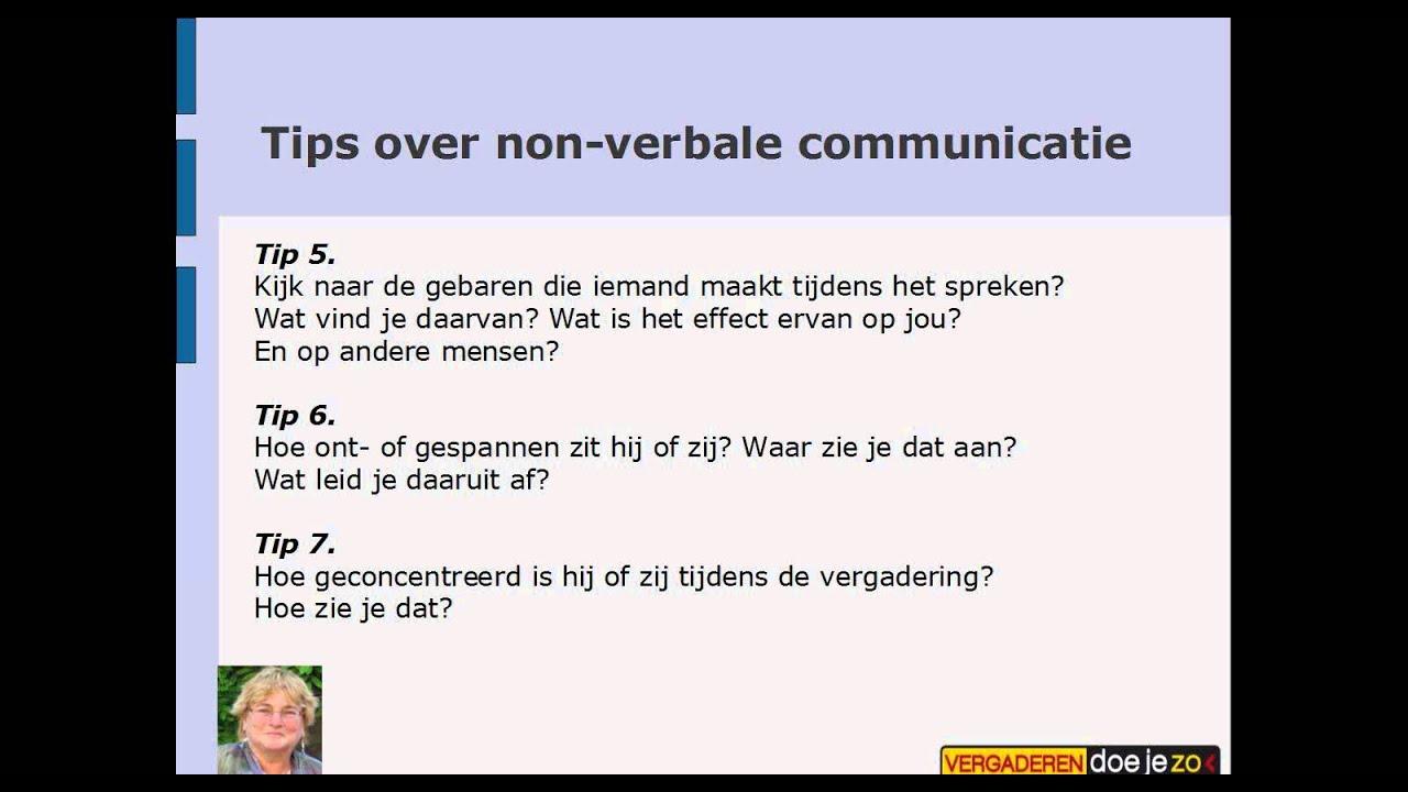 9 Tips over non-verbale communicatie in je vergadering ...