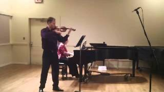 "Beethoven ""Kreutzer"" Sonata, Op. 47, Adagio sostenuto-Presto"