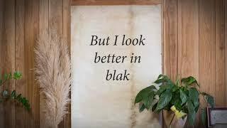 Thelma Plum - Better In Blak  (Lyric Video)
