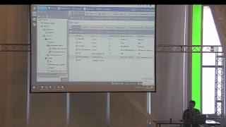 Проектирование приложения на FIS Platform. Модель данных