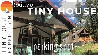Tiny Home Community Of Woodland Park, Co | S1 E2 Today's Tiny House Parking Spot