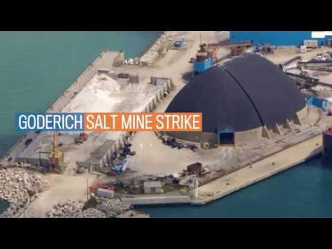 Goderich Salt Mine Strike