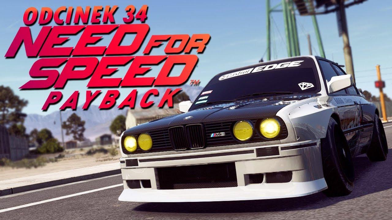 Need for Speed Payback UPDATE PL (DUBBING) #34 – W KOŃCU JEST BMW M3 E30! – PC