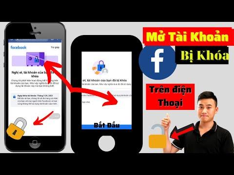 Tài khoản của bạn đã bị khóa Facebook Tìm hiểu thêm vấn đề   Cách mở khóa tài khoản Facebook  