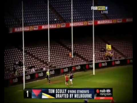 afl draft how to watch