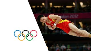 Zou Kai (CHN) Wins Artistic Gymnastics Floor Exercise Gold - London 2012 Olympics(Check out the brandnew Olympic Channel: http://go.olympic.org/watch?p=yt China's Zou Kai wins the gold medal in the men's artistic gymnastics floor exercise ..., 2012-08-05T15:30:18.000Z)