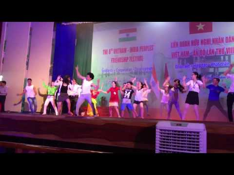 Zumba dance on Sadi Gali | Indo-Vietnam trip cultural fest | Zumba with Shetty…