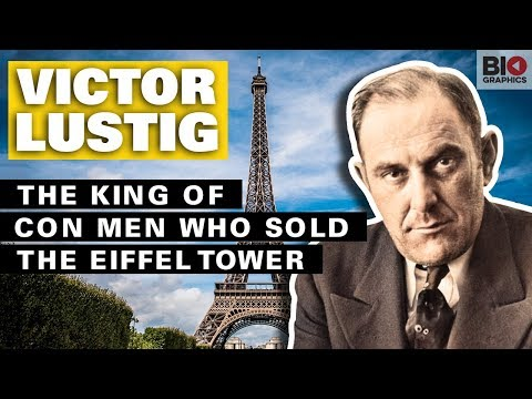 Victor Lustig: The King Of Con Men Who Sold The Eiffel Tower