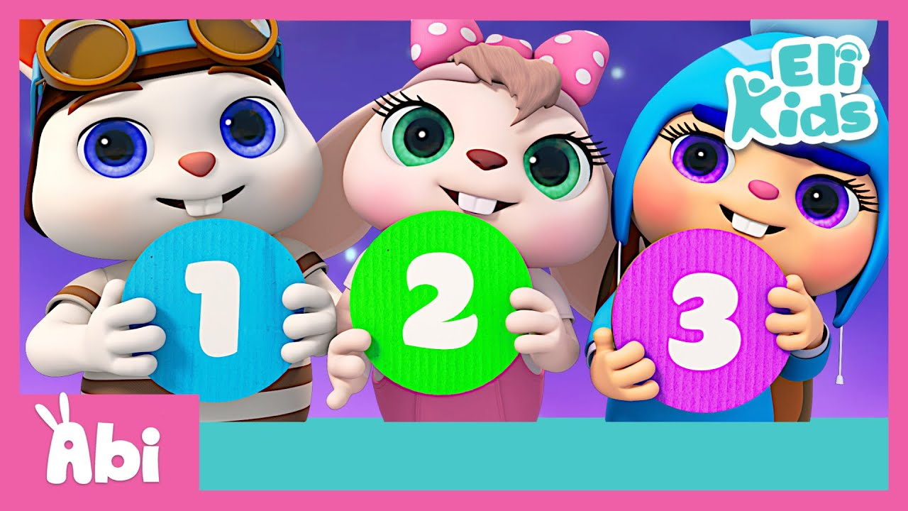Number Song Collection | Counting Songs | Eli Kids Songs & Nursery Rhymes Compilations