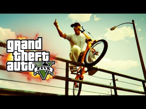 GTA V - Random Moments 16 (Knocked The F*ck Out , Mysterious Car!)