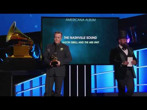 Jason Isbell and the 400 Unit won Best Americana Album | 60th Annual Grammy Awards