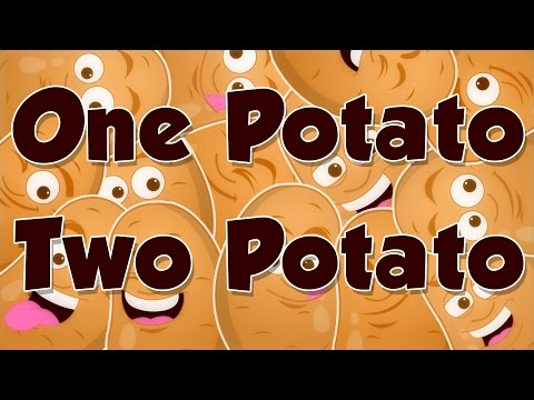 One Potato, Two Potato | Nursery Rhymes From Kids Baby Club
