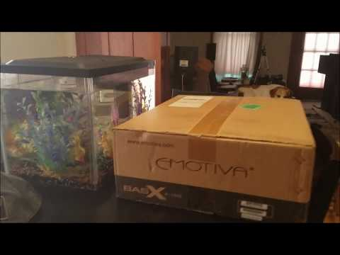 Emotiva BasX A-150 stereo power amplifier unboxing