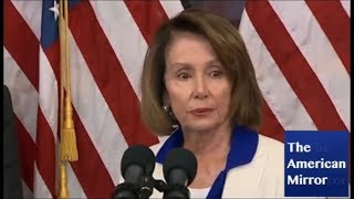 Nancy Pelosi confused about time of day, botches name of own guest