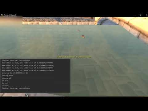 WoW Fishing Bot With OpenCV Demo