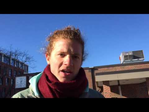 Voices from TD Bank protest in Amherst