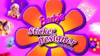 Barbie Sticker Designer CD-ROM (1999) 👧