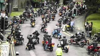 Biker Funeral in Caterham - Del