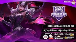 Mobile Legends Live : Ligagame Online Community Cup #3 | MLBB Indonesia