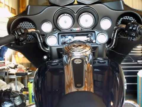 Aftermarket Stereo For Harley Davidson Street Glide Youtube