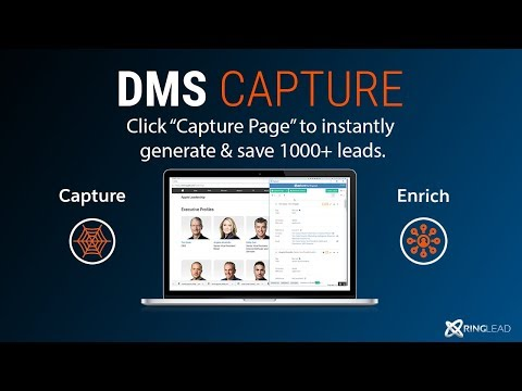 DMS Capture - 1 Minute Demo