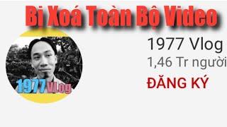 1977 Vlog Bị Xoá Hết Video - Nguyên Nhân Tại Sao?