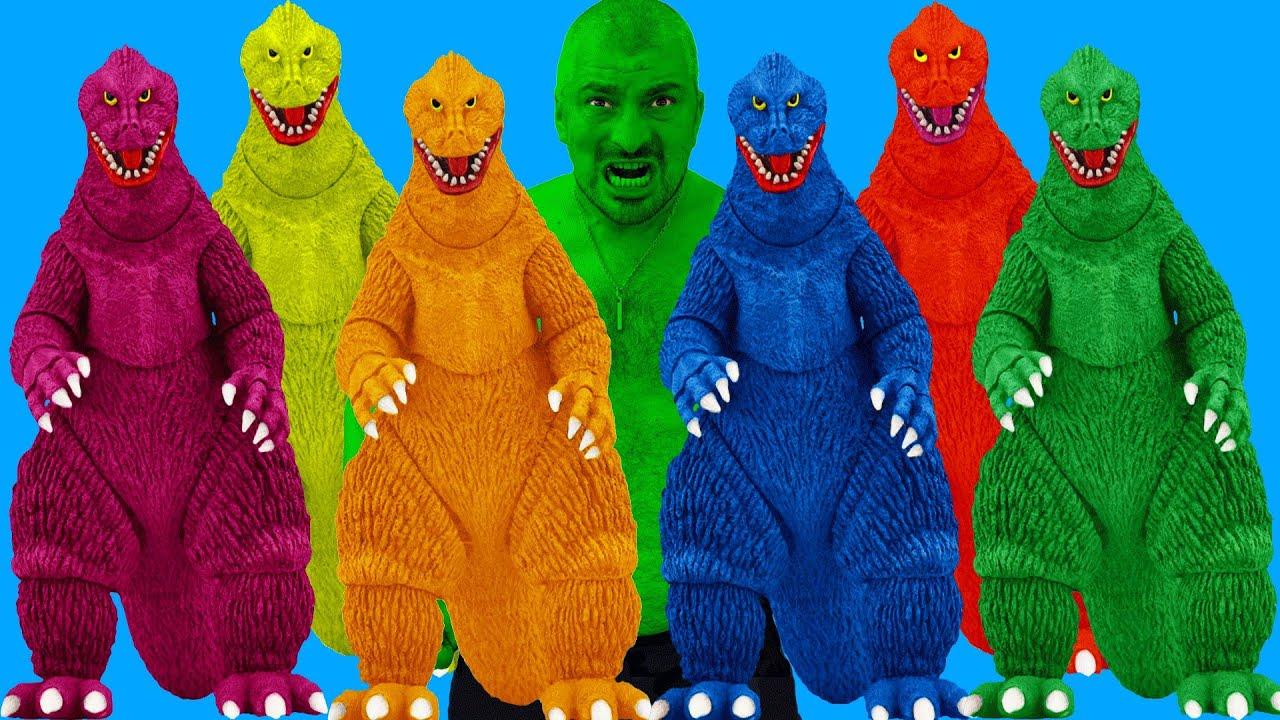 The Incredible Hulk, The Amazing Spider-Man, Siren Head VS Team Godzilla