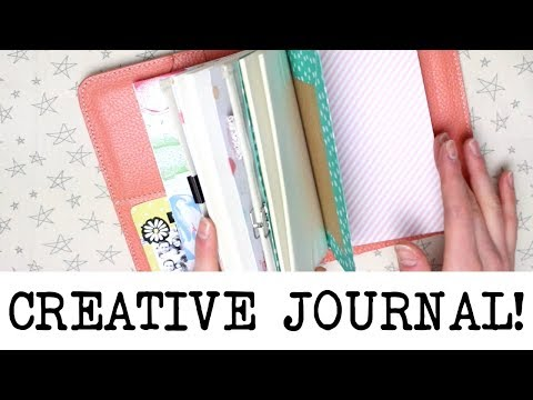 Setting Up My New Creative Journal!