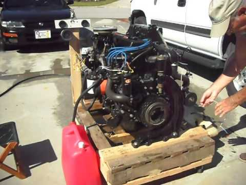 1986 mercruiser 4 3 engine wiring 1988 3.7l mercruiser 165hp 224cid - youtube s10 4 3 engine diagram