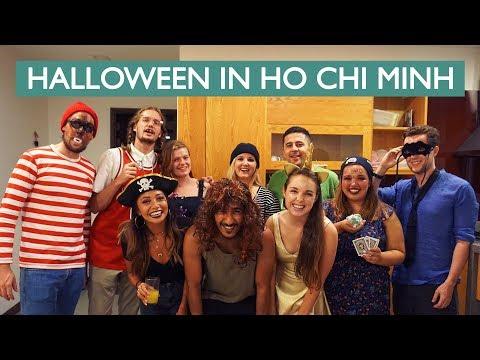 Halloween In Ho Chi Minh City (Nightlife in Vietnam)