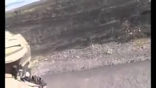 Война видео Украина Огонь по колоне  Ukraine War Ukrainian Donbass