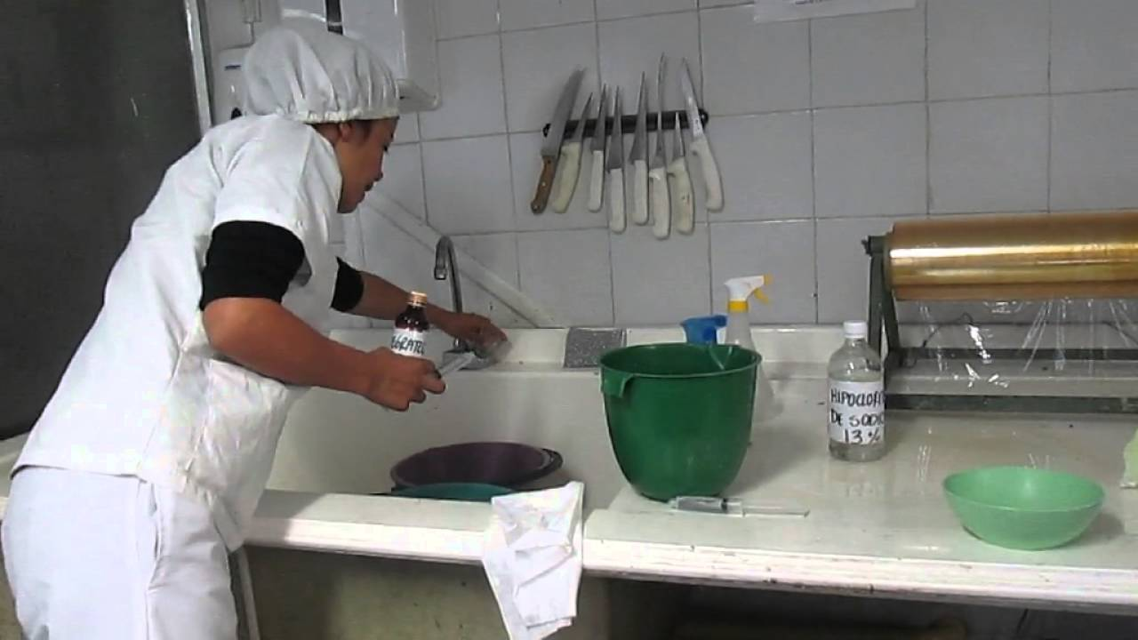 Evidencia 8 video programa de limpieza y desinfecci n for Empresas de utensilios de cocina