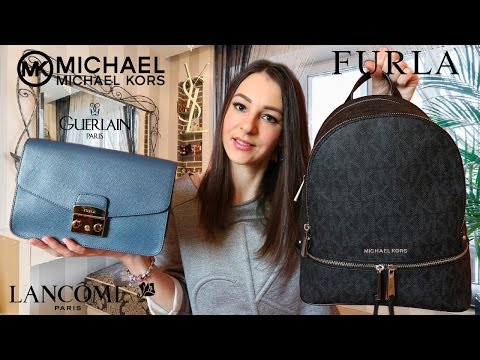 SPRING HAUL: Модные покупки на весну | Michael Kors, Furla, Calvin Klein, Lancome, YSL, Guerlain