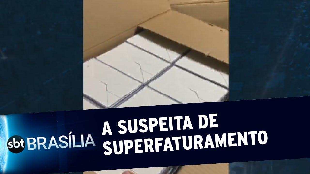 Governador emite nota sobre suspeita em compras   SBT Brasília 03/07/2020
