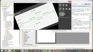 Free Android Application Development Tutorial 05 - Tablelayout in Android
