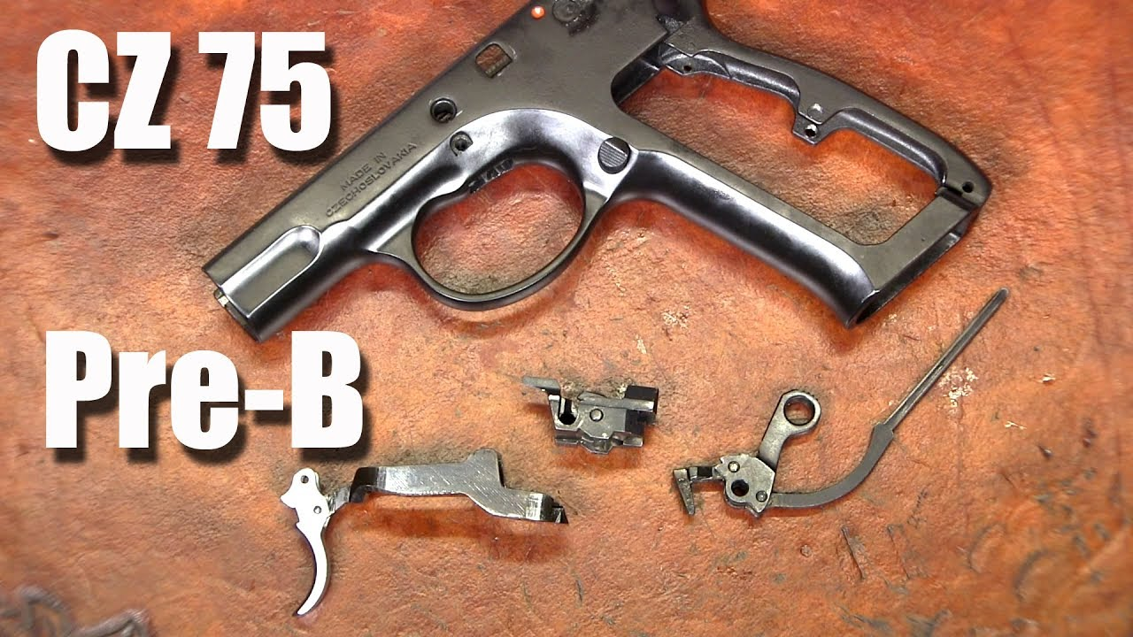 CZ 75 Pre-B Understanding and Improving the Action (Trigger Job)
