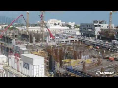 Msheireb Downtown Doha Construction Time-Lapse