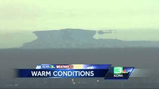 LiveCopter3 captures amazing mirage of Mt. Diablo