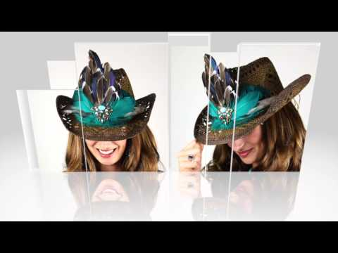 La Vie en Rosas Haute Couture  Country Collection of Ladies Hats