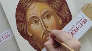 Обучение иконописи. Видеоуроки по иконописи. Мастер-класс.