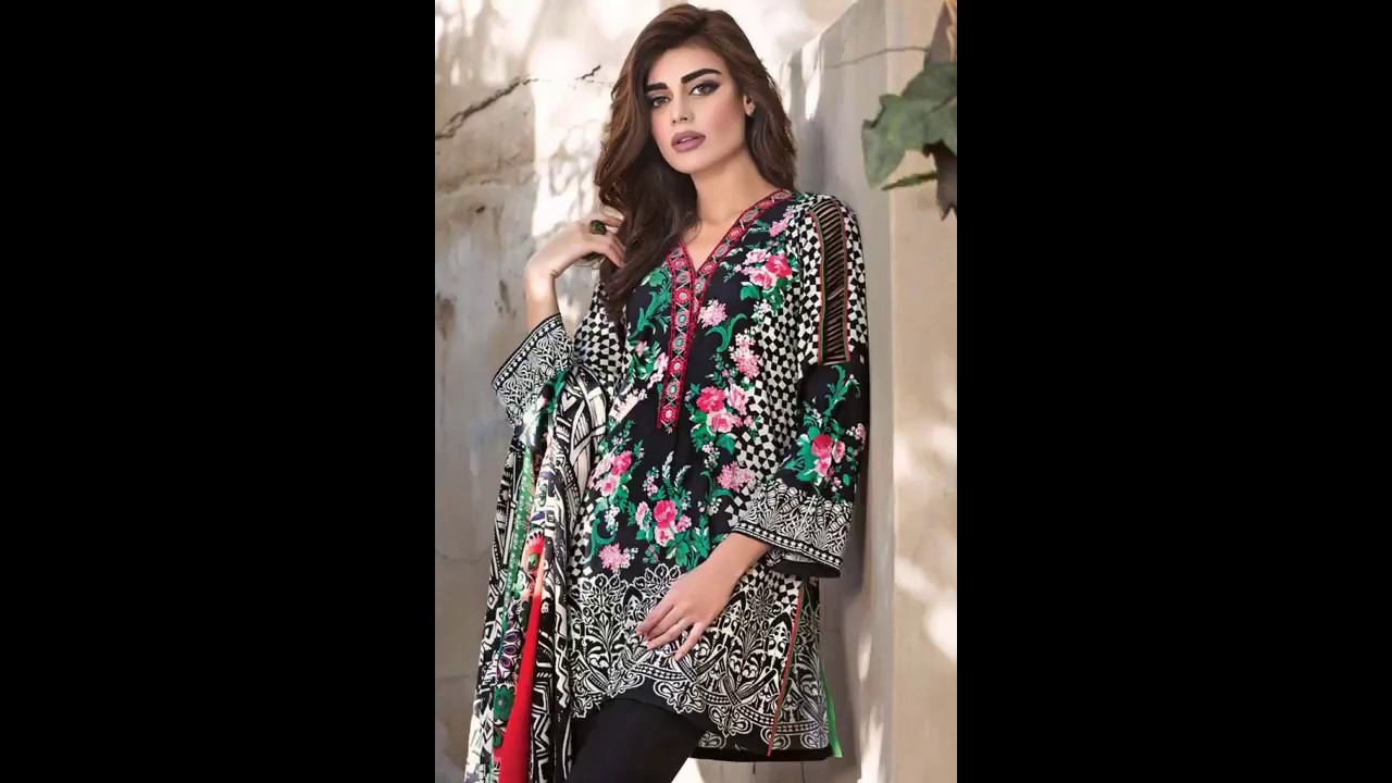 7c1d468f66 Gul Ahmed Winter Collection Vol 2 With Price 2017-18 - YouTube