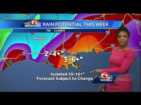 Monday AM Videocast: Potential heavy rain & flood threat this week
