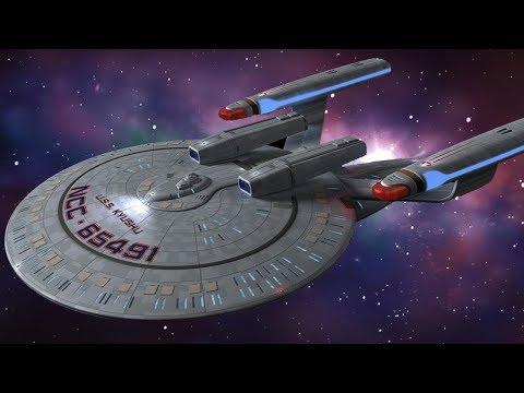 New Orleans Class Starship Model | Eaglemoss Star Trek Starship Collection